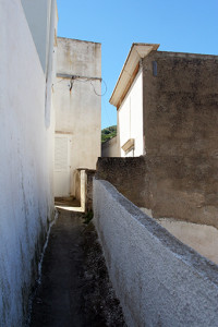 la casa ove era la bottega di Ersilia Parisi come appare salendo per u stritte