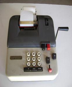 Calcolatrice manuale