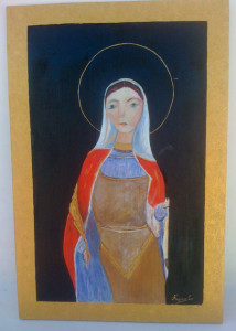 Carmela Argiero. Santa Domitilla