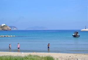 Dalla spiaggia di S. Antonio a Ponza
