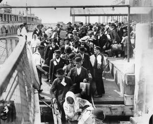 Ellis Island. Arrivo.1