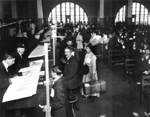 Ellis Island. Arrivo.2