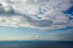 Isole ponziane.Nuvole