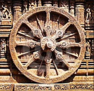 La ruota buddista