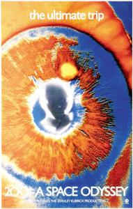 Locandina. 2001 Odissea nello spazio