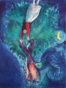 Marc Chagall. Four tales from the arabian nights