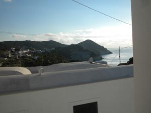 Panorama de Le Frna dalla casa di Anna e Silverio