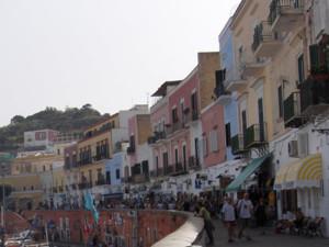 Ponza. Corso Pisacane