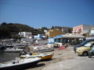 Ponza. Spiaggia di Santa Maria