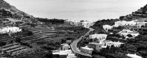 Ponza. Strada provinciale