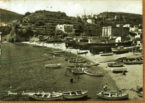 Spiaggia di Santa Maria. Antica foto. Small