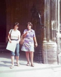 Teresa e Irma a Londra. 1973
