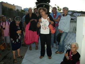 Mimma Califano: i ponzesi confinati in casa propria