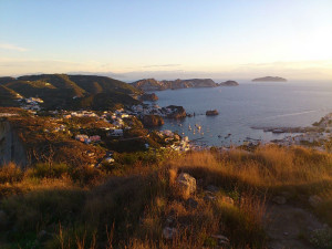 1. Panorama della rada del porto all'alba