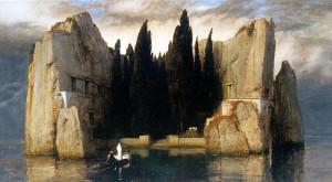Arnold Boecklin. L'isola dei Morti III vers. 1883