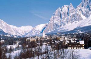 Cortina d'Ampezzo.Neve