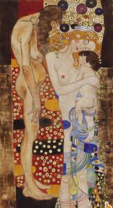 Gustav Klimt. Le età della vita.1905