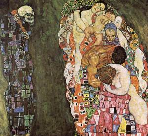 Gustav Klimt. Vita e morte.1916