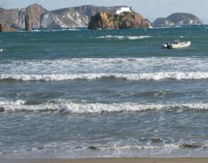 Il Levante dalla spiaggia di S. Antonio