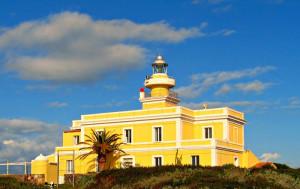 Il faro di Capo San Marco restaurato