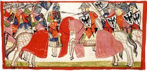 La battaglia di Benevento. Min. XIV sec