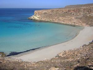 Lampedusa. Spiaggia dei conigli. OK
