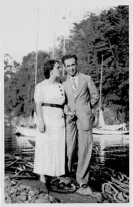 Mario Vitiello con la moglie Assunta