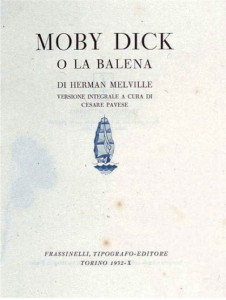 Moby Dick. Pavese 1932