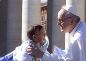 Papa Francesco e i bambini.1