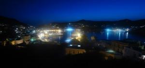 Porto di Ponza di notte