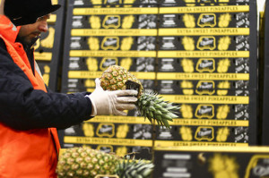 Stivaggio ananas
