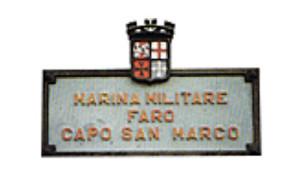 Targa Faro Capo San Marco