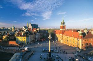 Varsavia. Piazza del Castello reale