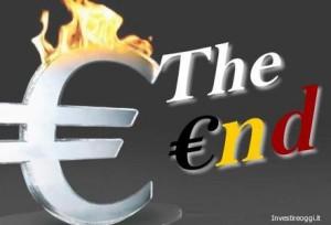 la fine dell'euro