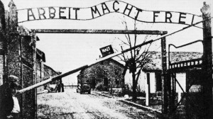 Auschwitz. L'ingresso al campo