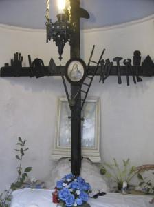 Croce Punta bianca. Interno