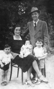 Di Vito con la famiglia a Torino