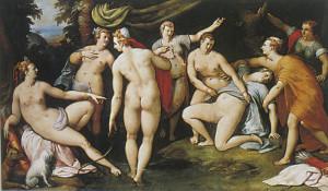 Diana scopre la colpa di Callisto