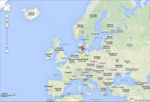 Europa. Indicazione per Kiel