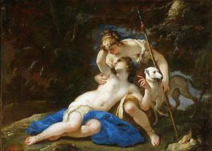 Federico Cervelli. Diana e Callisto.1625
