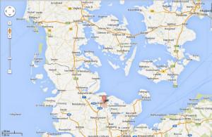 Google map. Kiel. Visualizz. isole Holligen