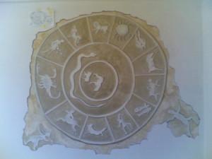 Il Mitreo Ponza. Ricostruzione in un dipinto murale di Ike