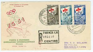 Italia_1951_Giochi_Ginnici_FDC_Venetia_(collezione_Silori)