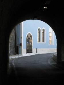 La Centrale dal grottone di Giancos