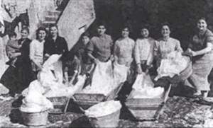 Lavandaie del Vomero. Antica foto