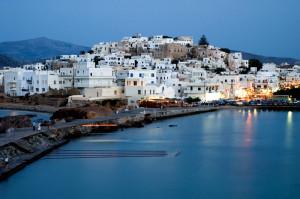 Naxos Town Naxos Cyclades Greek Islands Greece
