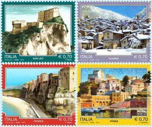 Poste Italiane. Nuove emissioni Località turistiche