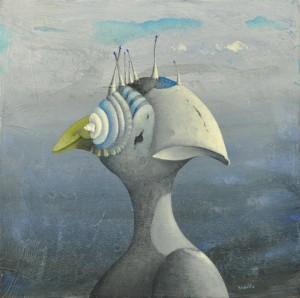 6. Silvano Braido. Uccello-conchiglia