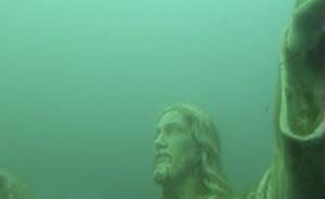 Cristo sommerso di Bracciano
