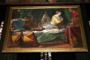 Duomo di Milano. Il Cerano. Miracolo di Aurelia Degli Angeli.1610